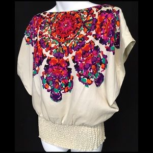RAMPAGE Colorful Blouse EXTRA SMALL